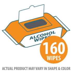 Alcohol Wipes 70% 160 count
